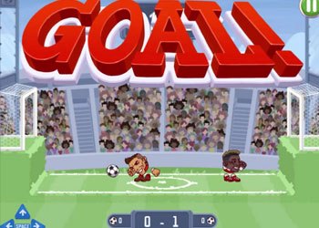 Play Heads Arena: Soccer All Stars game online - Screenshot 1