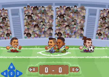 Play Heads Arena: Soccer All Stars game online - Screenshot 2