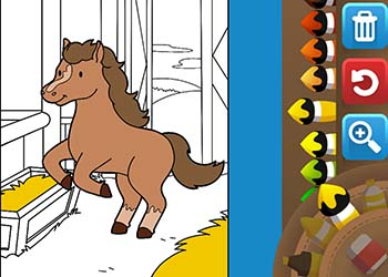 Play Hellokids Coloring Time online - Screenshot 1