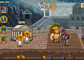 Play Heroes of Myths online - Screenshot 1