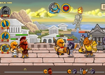Play Heroes of Myths online - Screenshot 2