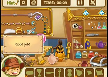 Play Hidden Object: Mysterious Artifact online - Screenshot 1