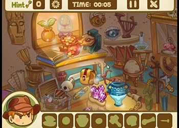 Play Hidden Object: Mysterious Artifact online - Screenshot 2