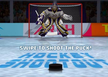 Play Hockey Shootout online - Screenshot 1