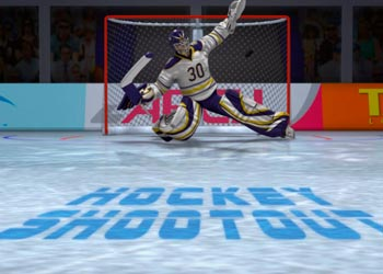 Play Hockey Shootout online - Screenshot 2