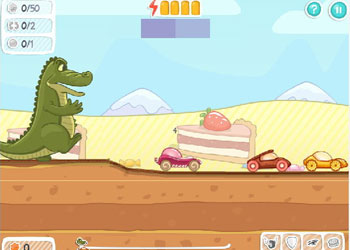Play Ice Cream Racing online - Screenshot 1