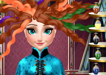 Play Ice Princess Real Haircuts online - Screenshot 2