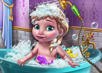 Play Ice Queen Baby Shower Fun online - Screenshot 1