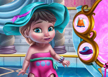 Play Ice Queen Baby Shower Fun online - Screenshot 2