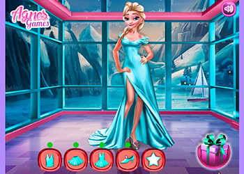 Play Ice Queen Royal Blog online - Screenshot 2