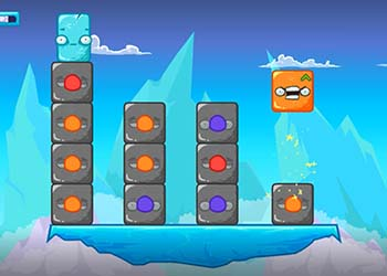 Play Icesters Trouble online - Screenshot 2