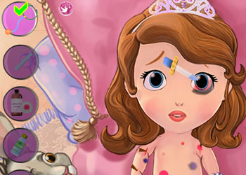 Play Injured Sofia the First online - Screenshot 2