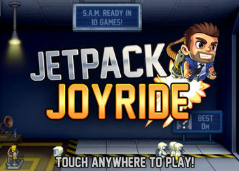 Play Jetpack Joyride online - Screenshot 1