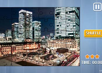 Play Jigsaw Puzzle: Big Cities online - Screenshot 1