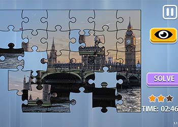 Play Jigsaw Puzzle: Big Cities online - Screenshot 2