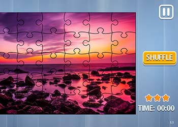 Play Jigsaw Puzzle: Sunsets online - Screenshot 1