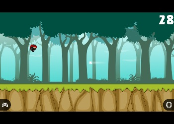 Play Jump Ninja Hero online - Screenshot 2