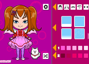 Play Kawaii Chibi Avatar Maker online - Screenshot 1