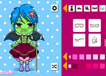 Play Kawaii Chibi Avatar Maker online - Screenshot 2
