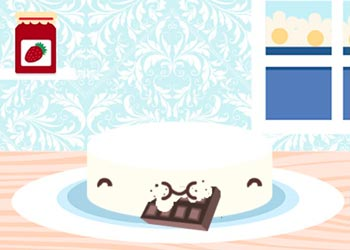 Play Kawaii Wedding Cake online - Screenshot 1