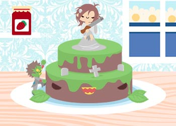 Play Kawaii Wedding Cake online - Screenshot 2