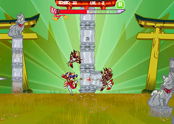 Play Kitsune Power Destruction online - Screenshot 1