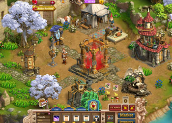 Play Knights and Brides online - Screenshot 2