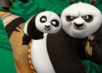 Play Kung Fu Panda 3: Panda Training Challenge online - Screenshot 1