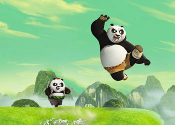 Play Kung Fu Panda 3: Panda Training Challenge online - Screenshot 2