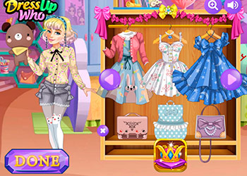 Play Lolita Princess Party online - Screenshot 1