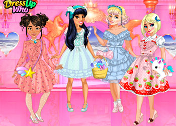 Play Lolita Princess Party online - Screenshot 2