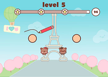 Play Love Bears online - Screenshot 1