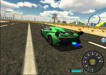 Play Madalin Stunt Cars 2 online - Screenshot 2