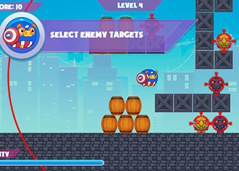 Play Mango Piggy Piggy Hero online - Screenshot 1