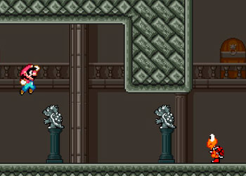 Play Mario Combat online - Screenshot 2