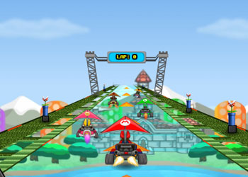 Play Mario Glider online - Screenshot 1