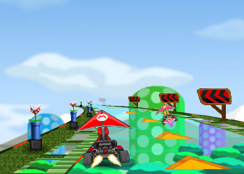 Play Mario Glider online - Screenshot 2