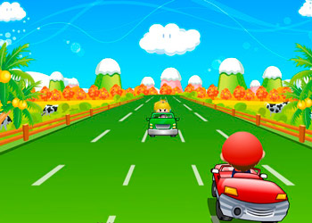 Play Mario Kart Racing online - Screenshot 1
