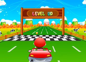 Play Mario Kart Racing online - Screenshot 2
