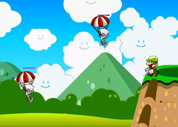 Play Mario Sonic Zombie Kill online - Screenshot 2