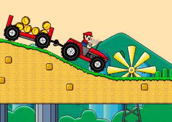 Play Mario Tractor online - Screenshot 1