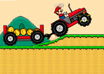 Play Mario Tractor online - Screenshot 2