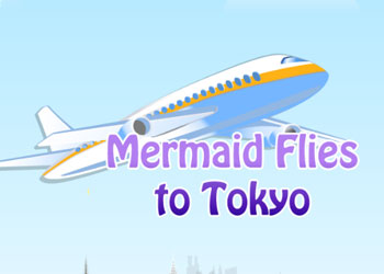 Play Mermaid flies to Tokyo online - Screenshot 2