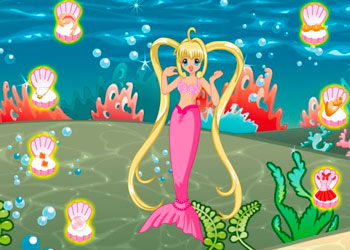 Play Mermaid Melody online - Screenshot 1