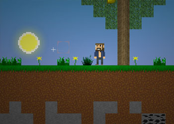 Play Mine Blocks online - Screenshot 2