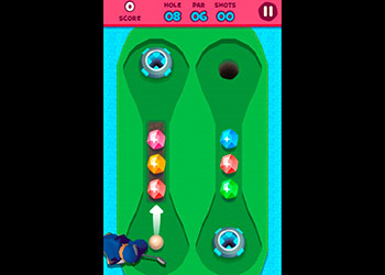 Play Mini Golf Adventure online - Screenshot 2