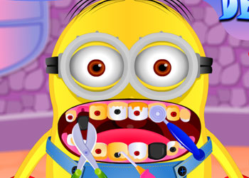 Play Minion At The Dentist online - Screenshot 1