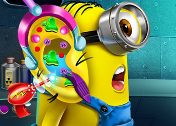 Play Minion Ear Doctor online - Screenshot 1