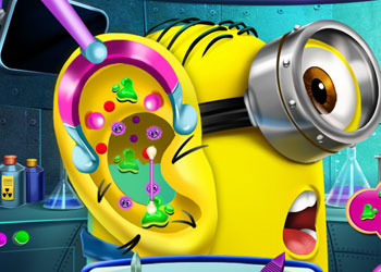 Play Minion Ear Doctor online - Screenshot 2
