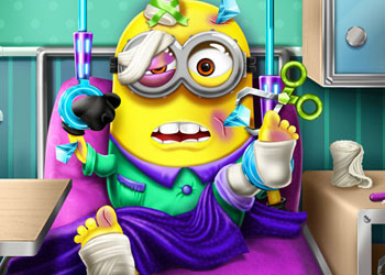 Play Minion Hospital Recovery online - Screenshot 1